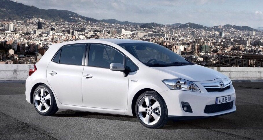 Toyota Auris 1.33 vvti manual
